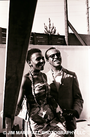 Miriam Makeba and John Hendricks