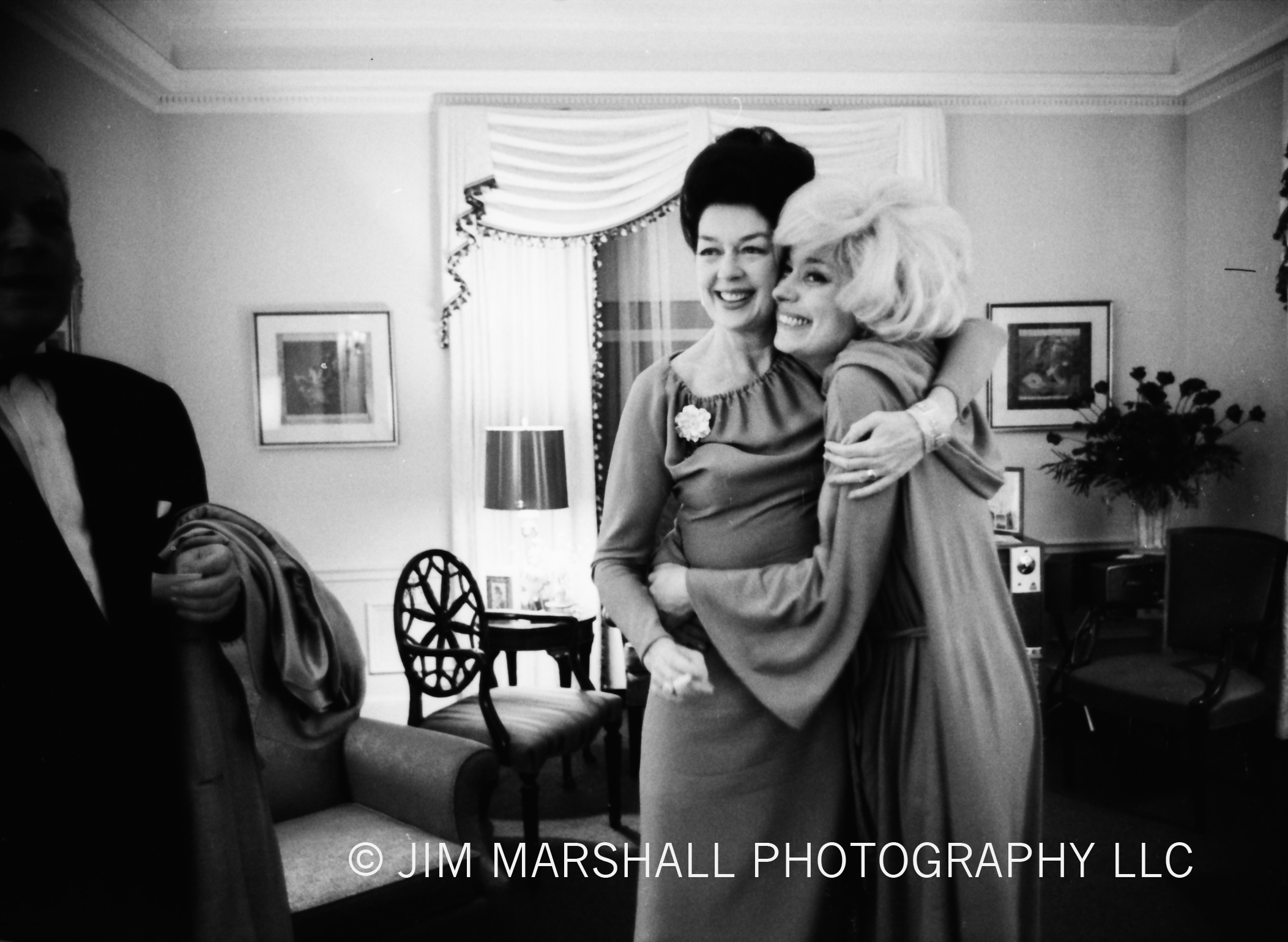 Carol Channing and Rosaline Russell