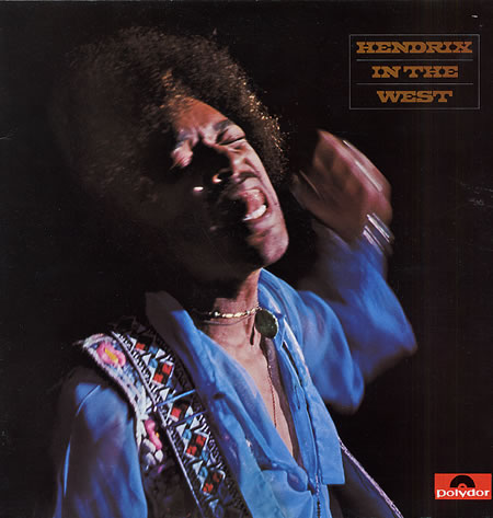 Jimi Hendrix album cover