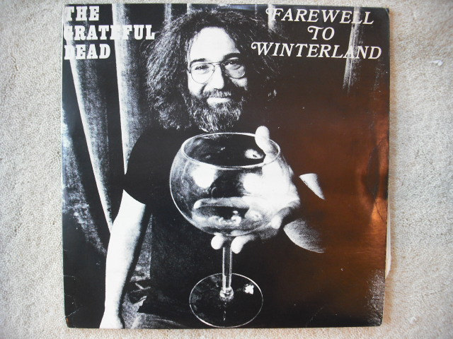 Jerry Garcia album cover