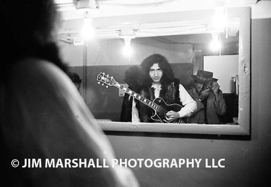 Jerry Garcia and Jim Marshall