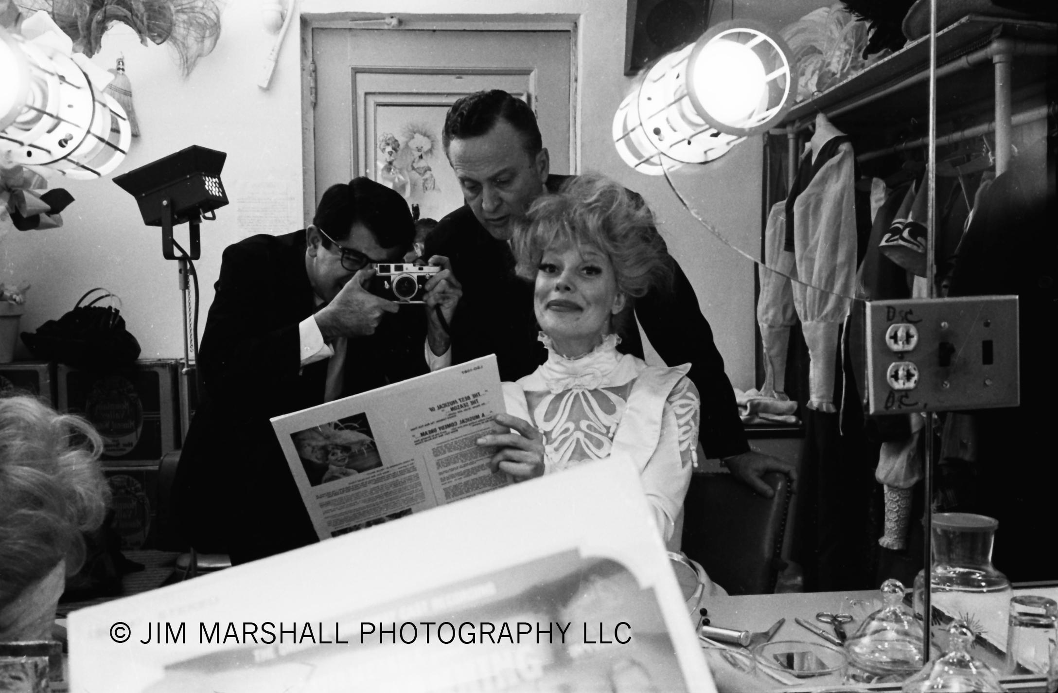 Jim Marshall and Carol Channing