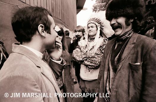 Paul Simon and Micky Dolenz, Monterey Pop Festival