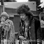 Brian Jones and Jimi Hendrix, 1967
