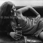 Janis Joplin, backstage at Winterland, San Francisco, 1968