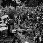 Jimi Hendrix, Summer of Love, at the Panhandle