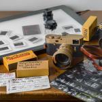 Leica camera collage