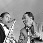 Paul Gonsalves and Duke Ellington-1961