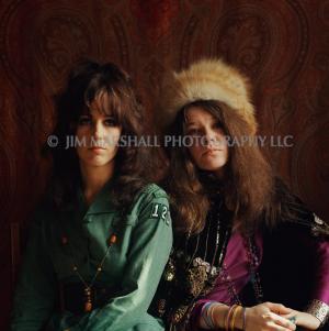 Janis Joplin & Grace Slick, 1967