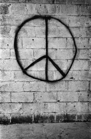 Brick wall, NY, 1962