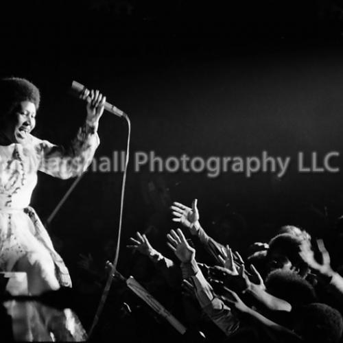 Aretha Franklin, Las Vegas, 1970