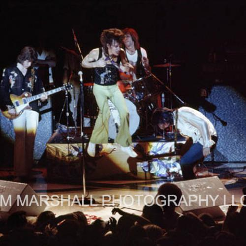 Rolling Stones onstage, 1972