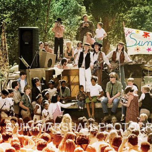 The Charlatans perform in the Golden Gate Park, 1967