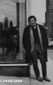 Jim Marshall and his coat