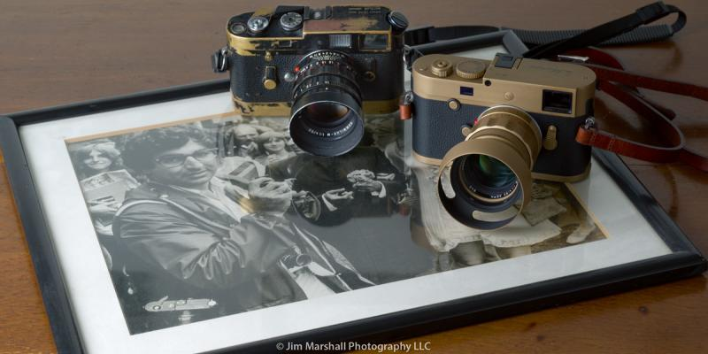 JIm Marshall's Leica M4 & the new liimited edition