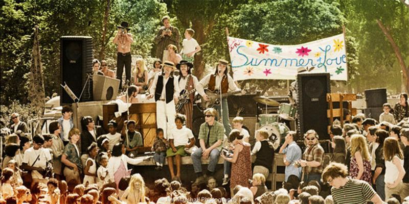 Charlatns, Summer of Love concert, Golden Gate Park, 1967