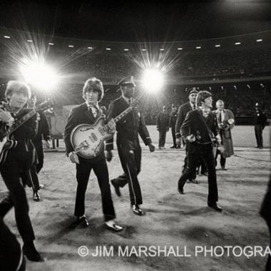 The Beatles, final concert at Candlestick Park, San Francisco, 1966