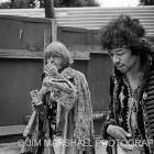 Brian Jones and Jimi Hendrix, 1967
