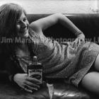 Janis Joplin, backstage at Winterland, San Francisco, 1968